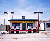 Gas station. Texas. USA