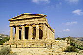 Temple of Concordia. Valley of the Temples. Agrigento. Sicily. Italy