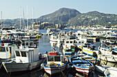 Marina. Lipari. Aeolian Islands. Sicily. Italy