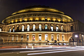 Europe, UK, GB, England, London, Royal Albert Hall at dusk