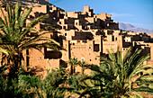 Ait Bennhadou. Ouarzazate region. Marocco