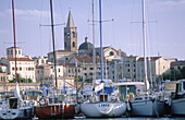 View of Alghero in Sardinia Island. Italy