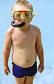 ing, Diving mask, Diving masks, Fair-haired, Fun, Holiday, Holidays, Human, Infantile, Kid, Kids, Kne