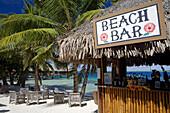 Hotel Maitai by Matira Beach. Bora Bora island. French Polynesia