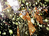 Carnival, Limoux, Languedoc, France