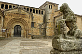 Romanesque collegiate church. Santillana del Mar. Cantabria, Spain