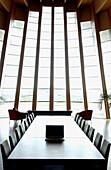 Ysios winery building design by Santiago Calatrava. Laguardia, Rioja alavesa. Euskadi, Spain