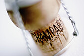 Alcohol, Alcoholic drink, Alcoholic drinks, Champagne, Close up, Close-up, Closeup, Color, Colour, Concept, Concepts, Cork, Corks, Detail, Details, Enology, Indoor, Indoors, Inside, Interior, Object, Objects, Oenology, One, One item, Selective focus, Spa