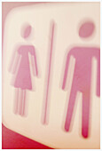 Bathroom, Bathrooms, Close up, Close-up, Closeup, Color, Colour, Concept, Concepts, Difference, Female, Figure, Figures, Idea, Ideas, Indoor, Indoors, Interior, Male, Man, Men, Opposite, Pair, Sign, Signs, Special effects, Symbol, Symbols, Two, Woman, Wo