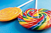 Aliment, Aliments, Candies, Candy, Childhood, Close up, Close-up, Closeup, Color, Colored, Colorful, Colors, Colour, Coloured, Colourful, Colours, Concept, Concepts, Fantasy, Food, Foodstuff, Horizontal, Indoor, Indoors, Infantile, Interior, Lollipop, Lo