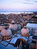 St. Mark s basilica domes. Venice. Italy