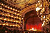 Saint Charles Theater (Teatro di San Carlo). Naples. Italy