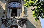 Astronomical clock. Place de la Mairie. Aix-en-Provence. Bouches du Rhone. Provence. France