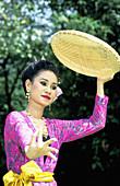 Traditional folk dances performed on Sunday. Vimanmek Mansion. Bangkok. Thailand