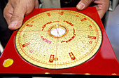 Special compass to determine best feng shui management. Hong Kong. China