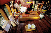 Tea House. Traditional Green tea ceremony. Taichung region, West coast. Taiwan. Republic of China.