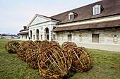 Main yard. Royal Saltworks. Arc-et-Senans. Franche-Comté, France