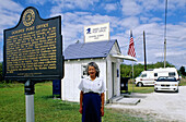 Smallest US post office. The Everglades. Florida, USA