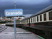 Al Andalus expreso luxury train leaving each week from Sevilla for a 6 days and 5 nights tour. Andalucia. Spain