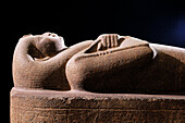 Sarcophagus of Nitocris. Egyptian Museum. Egypt