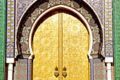 Door of Royal Palace. Fes. Morocco