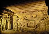 Catacombs of Kom es-Shouqafa. Alexandria. Egypt