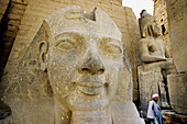 State of Ramses II. Luxor (ancient egyptian city of Thebes). East Bank of the Nile. Egypt