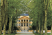 Chateau Margaux , in the Bordeaux wine area of Médoc. Gironde. Aquitaine. France.