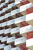Apartment, Apartments, Architecture, Background, Backgrounds, Balconies, Balcony, Building, Buildings, Color, Colour, Concept, Concepts, Daytime, Detail, Details, Exterior, Facade, Façade, Facades, Façades, Flat, Flats, Geometry, Housing, Outdoor, Outdoo