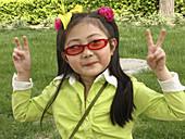 Chinese girl. Beijing, China