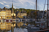 Afternoon at the harbour of Honfleur, dept. Calvados, Normandie, France, Europe