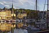 Afternoon at the harbour of Honfleur, dept. Calvados, Normandie, France, Europe