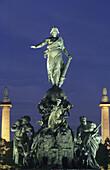 The Triumph of the Republic. Place de la Nation. Paris. France.