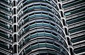 Petronas Twin Towers. Architect : Cesar Pelli. Lighting designer : Alain Guilhot. Kuala Lumpur. Malaysia.