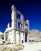Cook & company bank, Rhyolite ghost town, Nevada, USA.