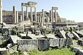 Roman theatre ruins. Dougga. Tunisia