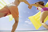 hing suits, Beach, Beaches, Best friends, Bikini, Bikinis, Carry, Carrying, Close friend, Close frien