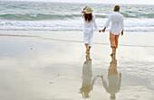 olor, Colour, Contemporary, Couple, Couples, Daytime, Exterior, Female, Fondness, Full-body, Full-len