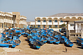 The Coastal Town of Aftas Imsouane in the province of Agadir, Morocco, Africa