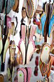 Abundance, Abundant, Africa, Asilah, Close up, Close-up, Closeup, Color, Colored, Colorful, Colors, Colour, Coloured, Colourful, Colours, Commerce, Concept, Concepts, Contemporary, Daytime, Destination, Detail, Details, Different, Exterior, Footgear, Foo
