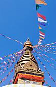 Swayambhunath Stupa. Kathmandu. Nepal