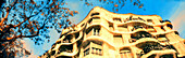 Antonio Gaudi, Architecture, Art, Art Nouveau, Art-Nouveau, Arts, Barcelona, Building, Buildings, Casa Mila, Catalonia, Catalunya, Cataluña, Cities, City, Color, Colour, Daytime, Europe, Exterior, Facade, Façade, Facades, Façades, House, Houses, La Pedre
