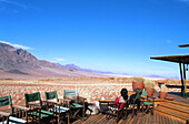The chalets of the excusive Wolwedans Dunes Lodge in a beautiful setting in the private Namib Rand Nature Reserve in Namibia