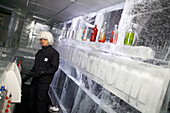 The Ice Bar, Nordic Sea Hotel, Norrmalm, Stockholm, Sweden