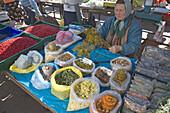 Vendor on central market