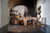 kitchen of the Mentzendorffhouse