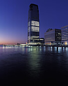 Financial district, Jersey City, New jersey, USA