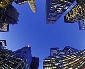 Tall office buildings, Park Avenue, Midtown, Manhattan, New York, USA