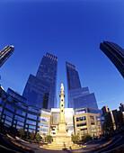 Time warner Center, Columbus circle, Midtown, Manhattan, New York, USA