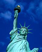Statue of liberty, New York harbor, New York, USA